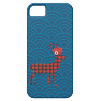 Graphic pattern and deer / iPhone Case iPhone 5 Cover