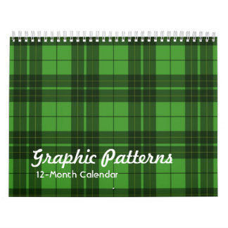 Graphic Patterns Calendar