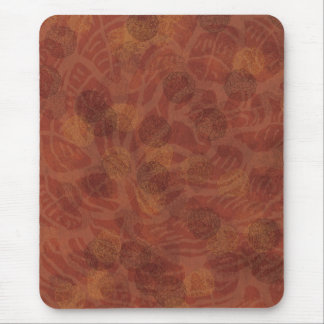 Graphic pinecones 2 mouse pad