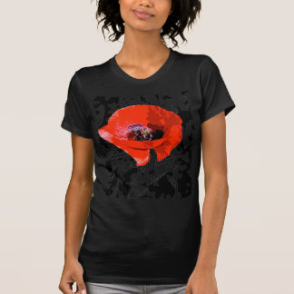 Graphic poppy T-Shirt