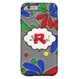 Graphic Primary Colors Floral iPhone 6 Case
