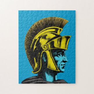 Graphic Roman Gladiator Jigsaw Puzzle