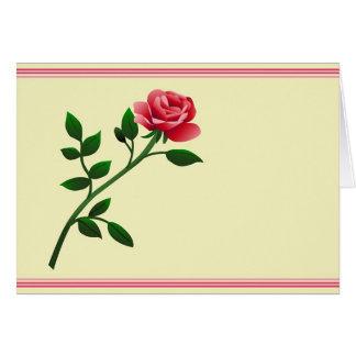 Graphic Rose Card