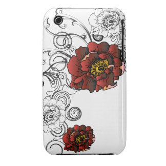 Graphic Rose iPhone 3 Cover