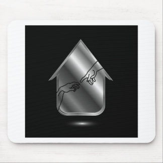 Graphic showing motivation mouse pad