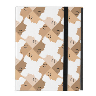Graphic showing unity amongst beautiful women iPad case