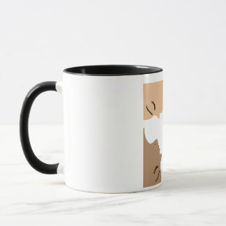 Graphic showing unity amongst beautiful women mug