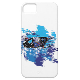 Graphic Snowmobiler iPhone 5 Cover