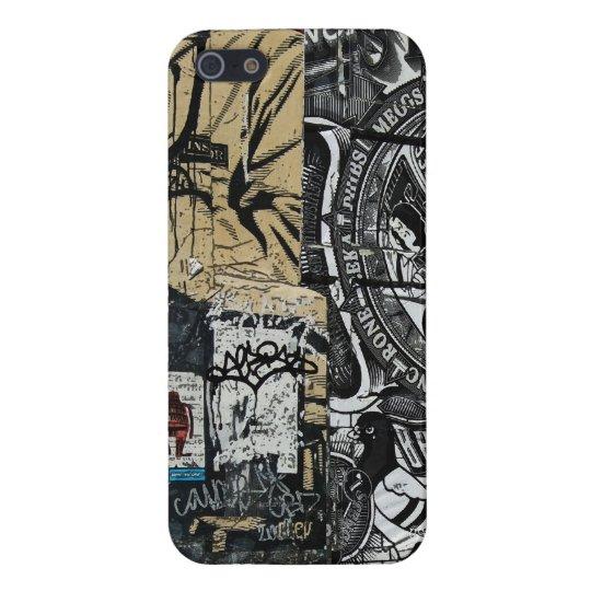 Graphic Soho Graffiti Street Arts iPhone 5 Case