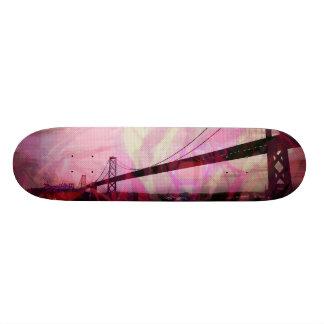 Graphic Storm Bridge red Custom Skateboard