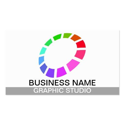 graphic studio business card