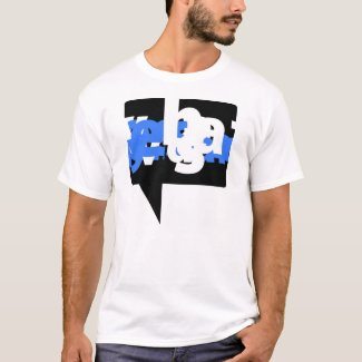 Graphic T-Shirt - Visual Voice Blue