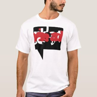 Graphic T-Shirt - Visual Voice Red