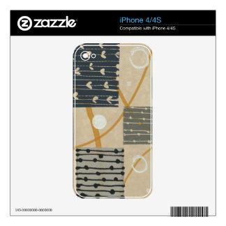 Graphic Tiles iPhone 4S Decals