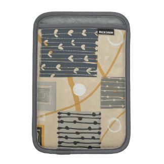 Graphic Tiles Sleeve For iPad Mini