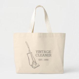 Graphic vacuum vintage cleaner cleaning bag