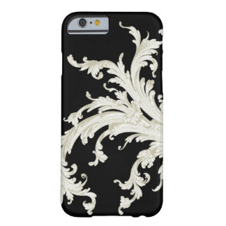 Graphic Vintage Flourish Black and White iPhone 6 Case