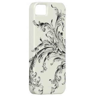 Graphic Vintage Flourish iPhone 5 Covers