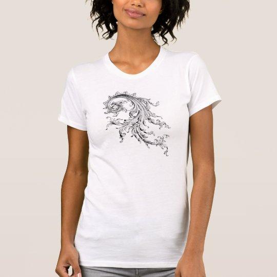 Graphic Vintage Flourish T-Shirt