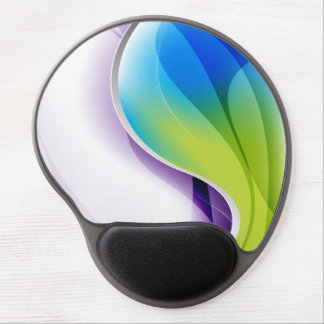 Graphic Wave Gel Mouse Pad Gel Mouse Pads