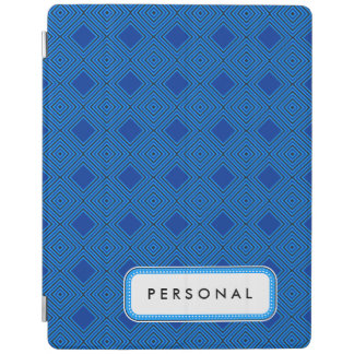 Graphical Blue White iPad Smart Cover