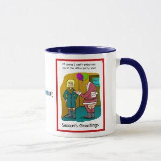graphical jacks Christmas card, graphical jacks... Mug