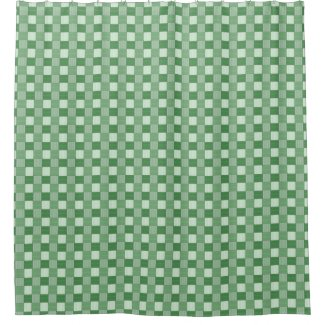 Graphical Woven Checkered Spring Green