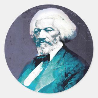 Graphics Depot - Frederick Douglass Portrait Classic Round Sticker