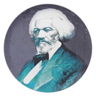 Graphics Depot - Frederick Douglass Portrait Plate