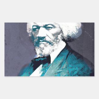 Graphics Depot - Frederick Douglass Portrait Rectangular Sticker