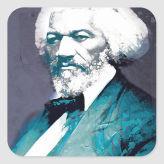 Graphics Depot - Frederick Douglass Portrait Square Sticker