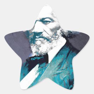 Graphics Depot - Frederick Douglass Portrait Star Sticker
