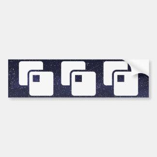 Graphics Enhancers Pictograph Car Bumper Sticker