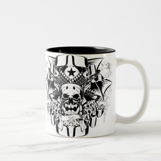 Graphics for Halloween - Two-Tone Coffee Mug