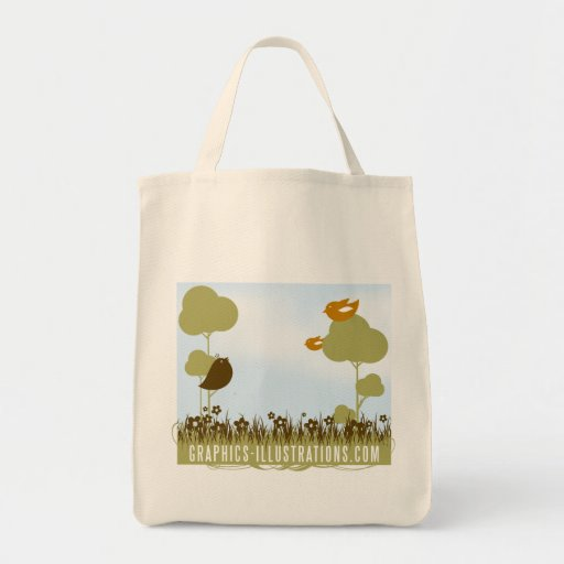 Graphics-Illustrations.Com Grocery Tote Grocery Tote Bag