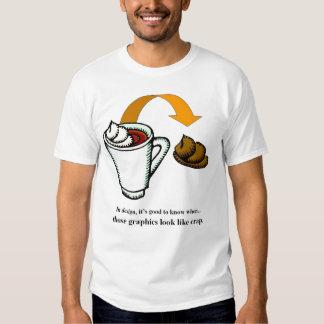 Graphics look like crap T-Shirt