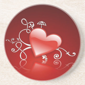 Graphics of St. Valentine's day - Drink Coaster