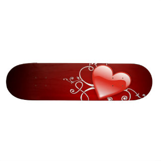 Graphics of St. Valentine's day - Skateboard