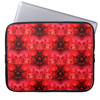 Graphite Abstract Antique Junk Style Fashion Art Laptop Sleeve