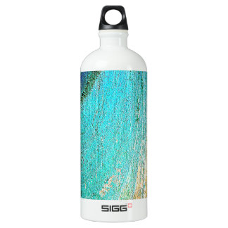 Graphite Abstract Antique Junk Style Fashion Art S Aluminum Water Bottle