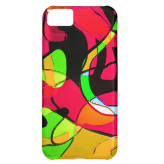 Graphite Abstract Antique Junk Style Fashion Art S iPhone 5C Case