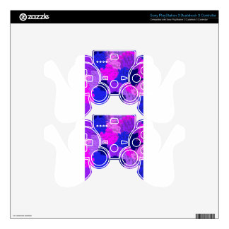 Graphite Abstract Antique Junk Style Fashion Art S PS3 Controller Skins