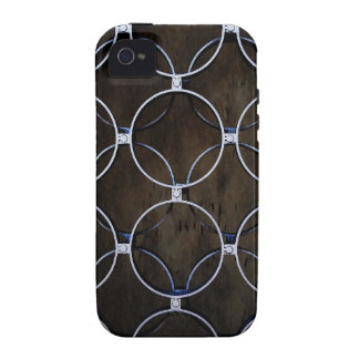 Graphite Abstract Metal Rusty Antique Junk Style F iPhone 4/4S Covers