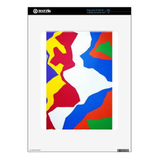 Graphite Art painting Street art  Creative Colors Decals For iPad
