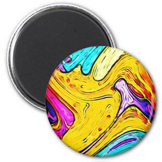 Graphite Art painting Street art Creative Colors Magnet