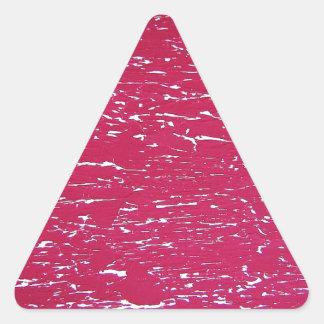 Graphite Art painting Street art  Creative Colors Triangle Sticker