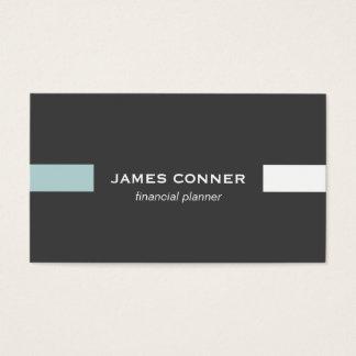 Graphite Gray Professional Minimalist Modern Business Card