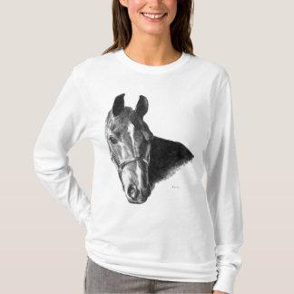 Graphite Horse Head T-Shirt
