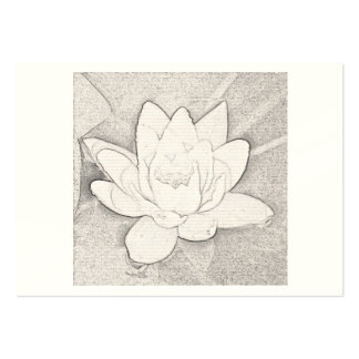 GRAPHITE LOTUS DESIGN BUSINESS CARD