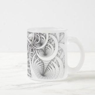 """""""Graphite Series: Follow the Leader"""" Frosted Mug"""